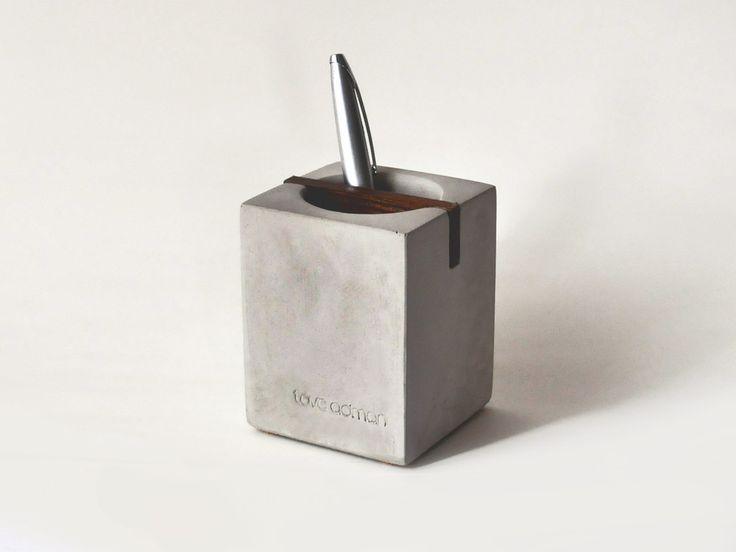 Tove Adman - Concrete Pen Holder