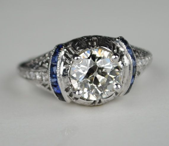 Hey, I found this really awesome Etsy listing at https://www.etsy.com/listing/170007928/150-carat-diamond-art-deco-engagement