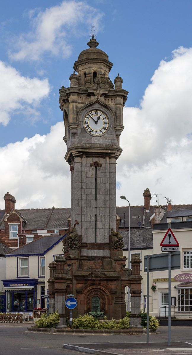 European Travel  Serafini Amelia  Exeter (Devon, UK), Clock Tower
