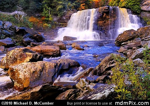 Blackwater Falls in WV