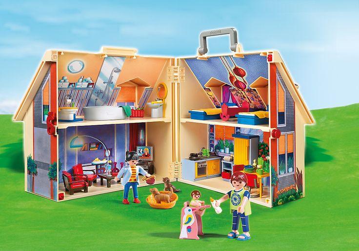 maison transportable 5167 playmobil france jouets n pinterest playmobil tats unis. Black Bedroom Furniture Sets. Home Design Ideas