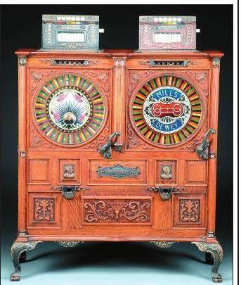 Rare Mills Double Dewey slot machine