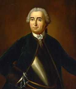Louis-Joseph, Marquis de Montcalm , mort à la bataille des Plaines d'Abraham en 1759 (Québec)