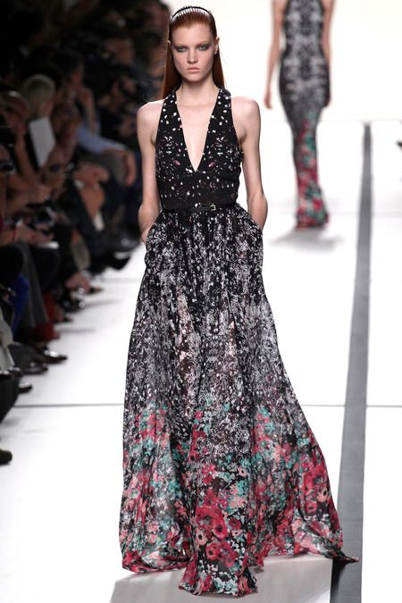 Elie Saab | Spring 2014 Ready-to-Wear Collection | Style.com -- pretty