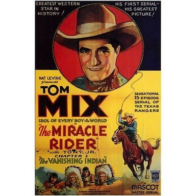 The-Miracle-Rider-Cliffhanger-Movie-Serial-DVD-Tom-Mix-Joan-Gale