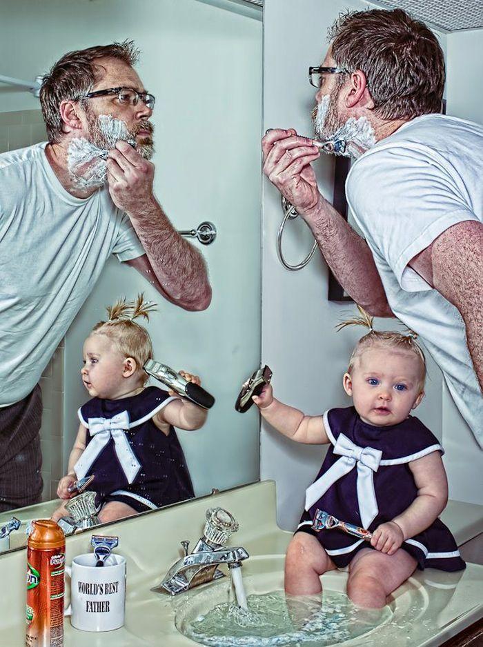 Для евгения, смешные картинки про отца двоих детей