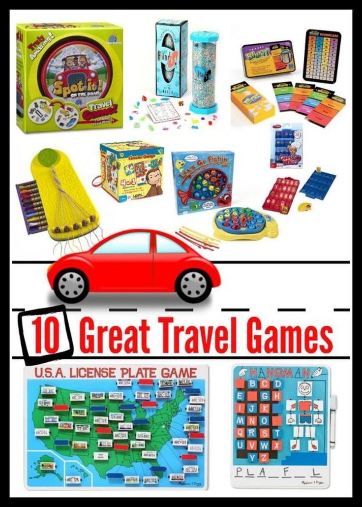 kid travel games