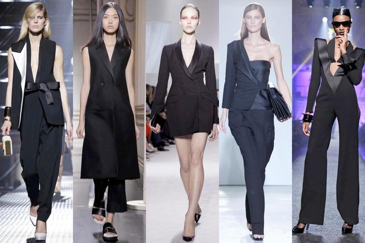 Le Smoking: Lanvin, Céline, Christian Dior, Costume National, Jean Paul Gaultier