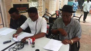 UPP party primary shall still hold on Saturday National Exco affirms     Chief Ogbuehi Dike flanked by the party's National Administrative Secretary and National Deputy Chairman (South)  By Okechukwu Onuegbu  The National leadership of the United Progressive Party (UPP) has said that its August 19th 2017 governorship primary in Anambra state must hold as earlier scheduled despite the crisis that rages on.  That was even as one of the aspirants for the governorship ticket on the partys…