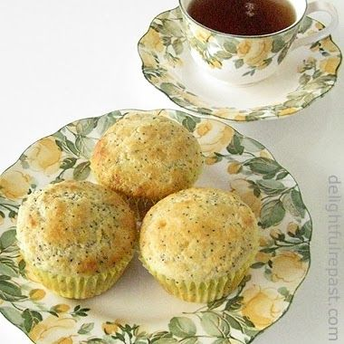 Delightful Repast: Lemon Poppy Seed Muffins