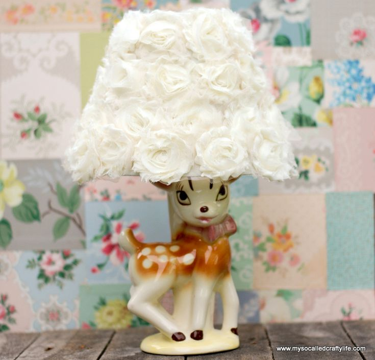 Best 25 flower lampshade ideas on pinterest paper light flower earlier this week i posted a diy for an upcycled lamp made from flower lampshadediy aloadofball Choice Image