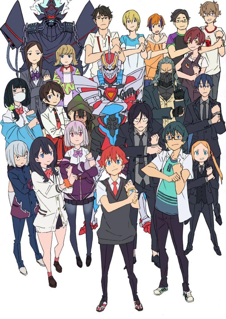 Spoiler Review Ssss Gridman ด จบแล วมาค ยก น Juke With Me Cute Anime Character Anime Character Design Anime Characters