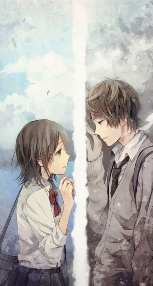Only a wish useless you can to see him but you can 39 t to - Image manga couple ...