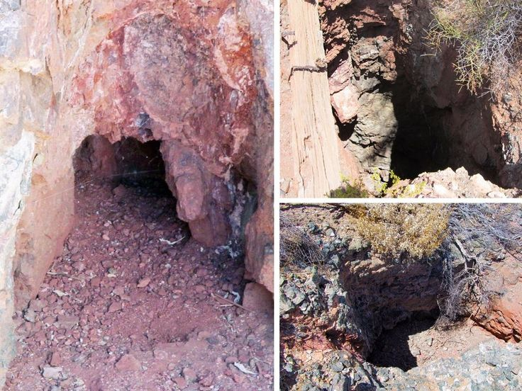 Aguila Arizona Historic Mine Lode Silver + Gold Mining