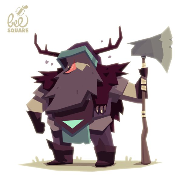 Zinkase - Pablo Hernández: Character design for a videogame