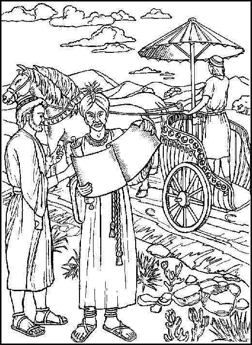 Kleurplaat Kamerling Philip And The Coloring Page Coloring Pages