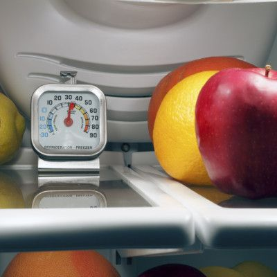 Farmers' Almanac Tip: To ensure food safety, your refrigerator temperature should be 36-39 degrees Fahrenheit (approx. 4º C), and the freezer should be 0-6 degrees Fahrenheit (-18 to -14º C).
