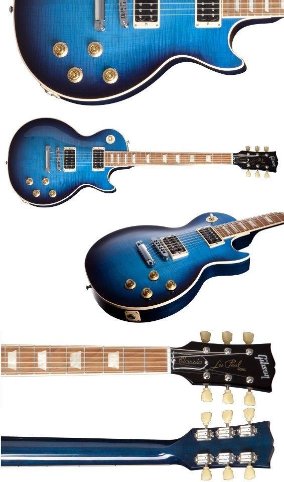 Les Paul Classic Plus (Manhattan midnight) Guitar photos