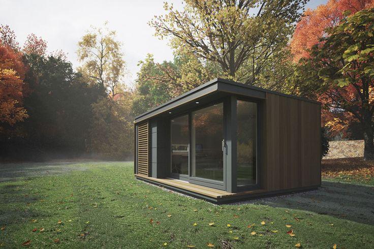 Pod Space, preciosos espacios ecológicos y oficinas prefabricadas para tu jardín