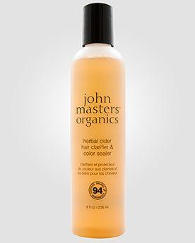 Очищающее средство+закрепитель цвета от John Masters Organics «ТРАВЯНОЙ СИДР» - это интенсивная пост-терапия для окрашенных волос. С одной с...