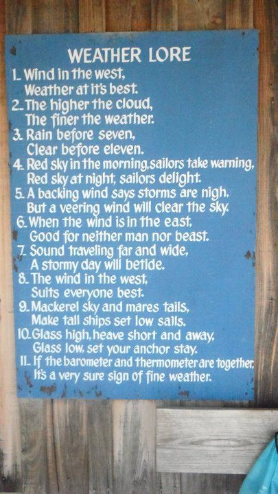 Some pratical weather advice from the Yosemite backpacking guides at http://sierraspirit.biz/