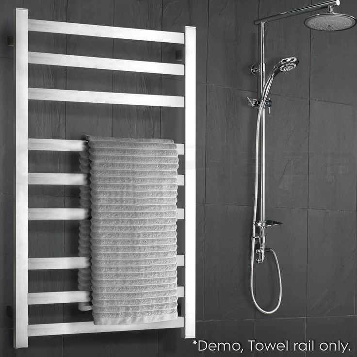 Electric Heated Towel Rack Warmer Rail Bar