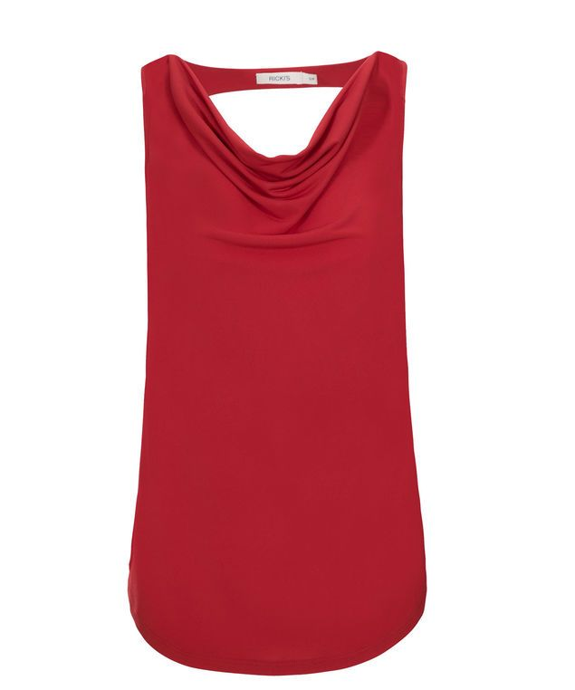 Cut Out Back Cowl, Poppy Red #loverickis #rickisfashion #rickis #instantoutfit #instantOOTD #summer #summer2017 #summerfashion