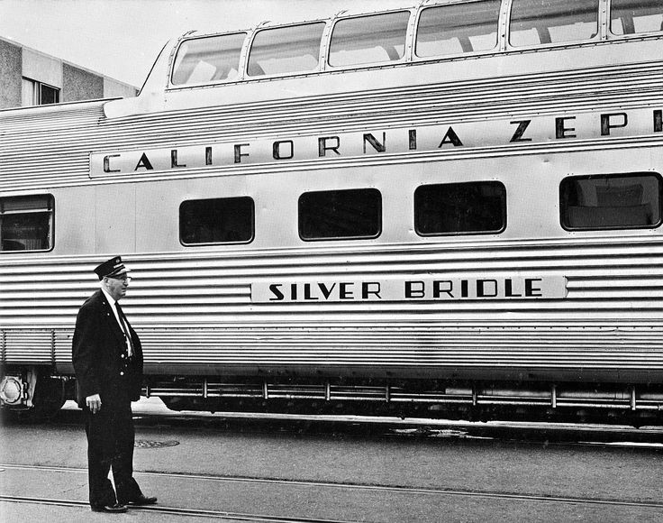 California Zephyr in Oakland, 1960's