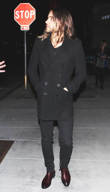 why doesn't he dress like this more often, he looks so good and put together