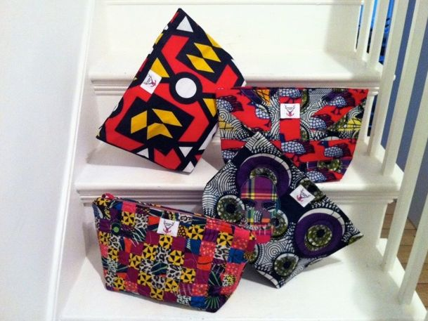 Selection of our bright wash bags