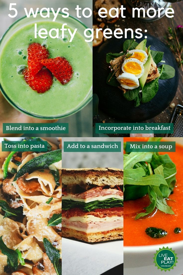 Leafy greens are high in nutrients, but low in calories! Use one of these simple strategies to incorporate more greens into your day.