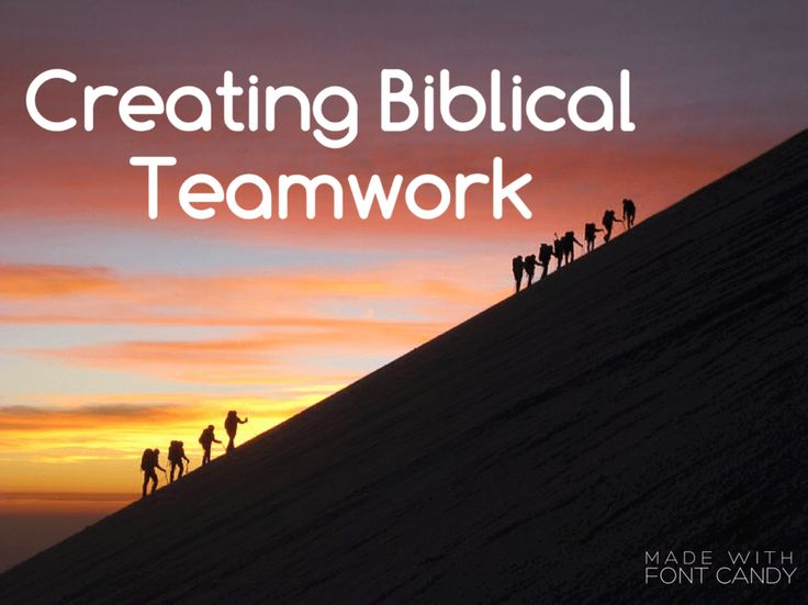 team leadership from a biblical perspective Whether we are coming from a christian or secular perspective, much of our   of exactly the sort of team leadership that leverages individual capacity while.