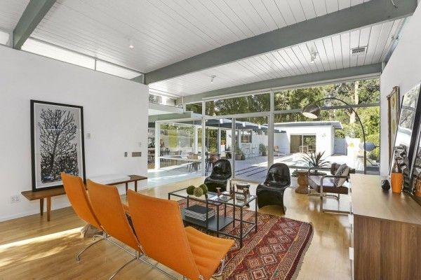 Mid century modern a collection of ideas to try about for Mid century post and beam house plans