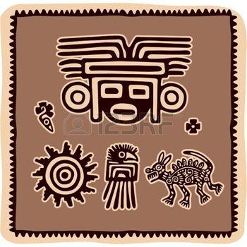 azteco: Serie di elementi di messicani