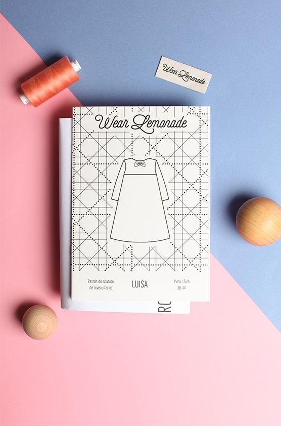 Patron de couture Luisa  Wear Lemonade by Make my Lemonade.