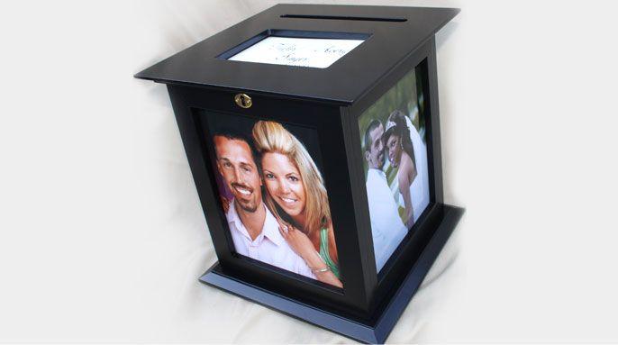 Wedding Gift Card Holder With Lock : ... Wedding Card Holder With Lock : Gift Card Holders : Wedding Card Box