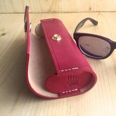 Lyndsay. A Handmade Leather Eyeglass / Glasses / by madebynick