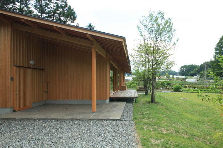 八ヶ岳 青柳の家 横内敏人建築設計事務所