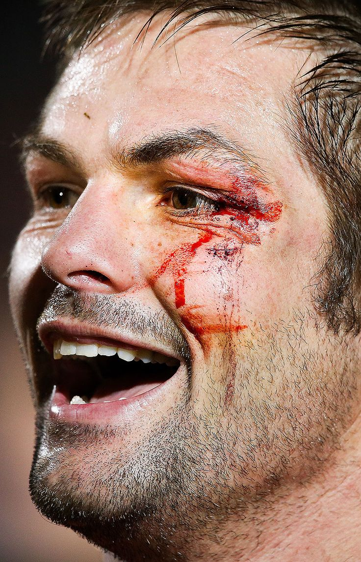 The Crusaders' Richie McCaw celebrates victory