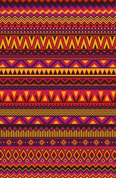 Aztec Pattern - i would wear this fabric if it was made into a garment and i would use it on one of my pieces of furniture! Just great