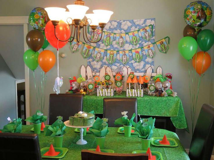 The 25 best Zombie birthday parties ideas on Pinterest Plants