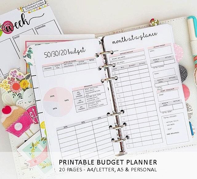 309 best Finance Worksheets images on Pinterest Agenda printable