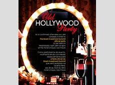 Pics Photos Hollywood Theme Party Invitations