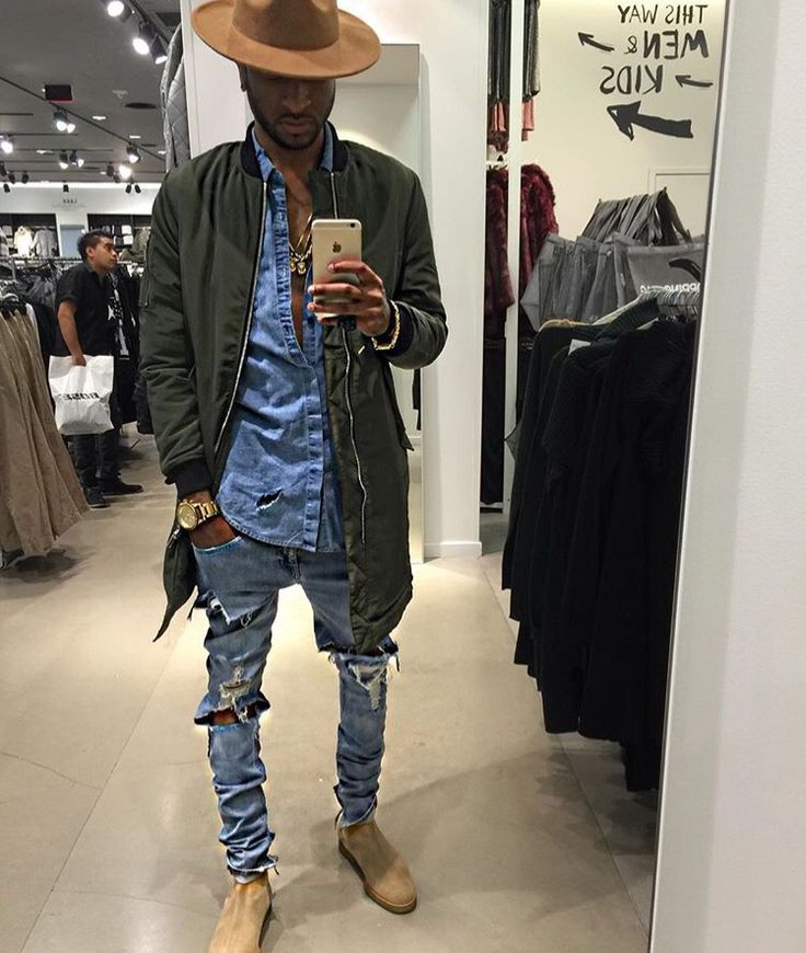 Men's fashion. Dope fit. Top to bottom