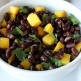 Healthy Black Bean Salad: This combination sounds interesting... maybe as a side to BBQ spice rib chicken thighs.