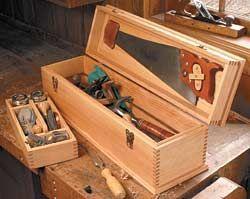 Diy Wooden Trunk Organizer