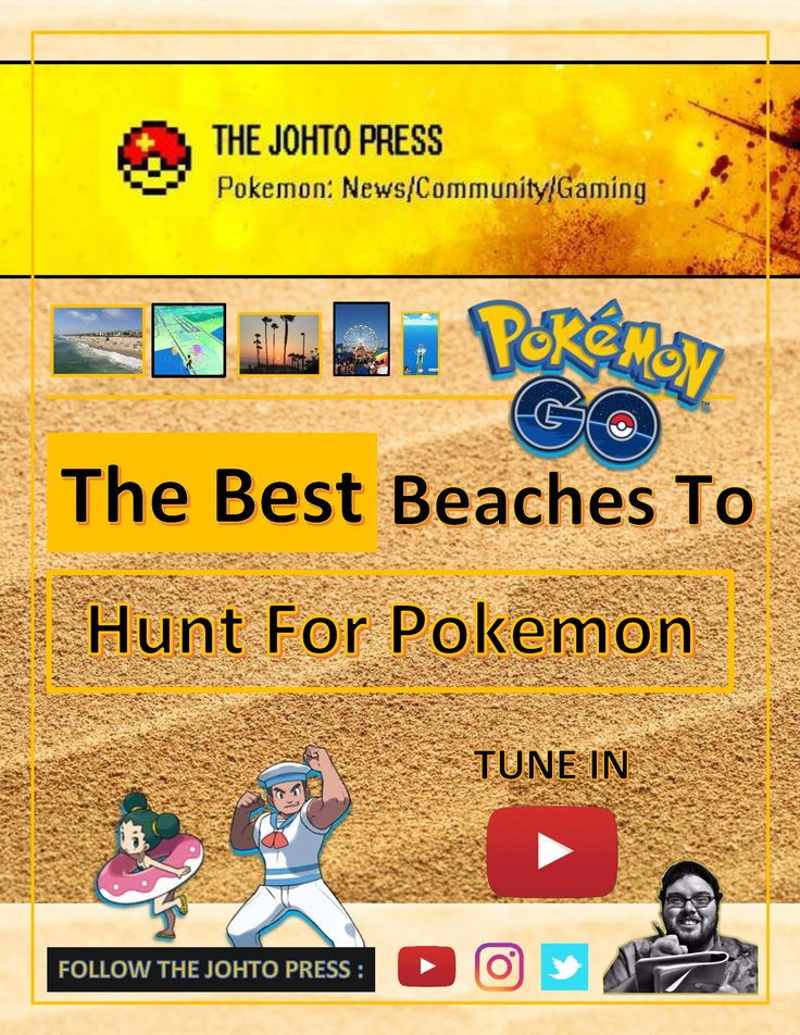 Play Pokemon Go the latest pokemon of course. Let's play Pokemon Go as I review my topp 5 favorite beach areas to catch these virtual monsters. YouTube Direct Link : https://www.youtube.com/watch?v=TyishUYrFwQ