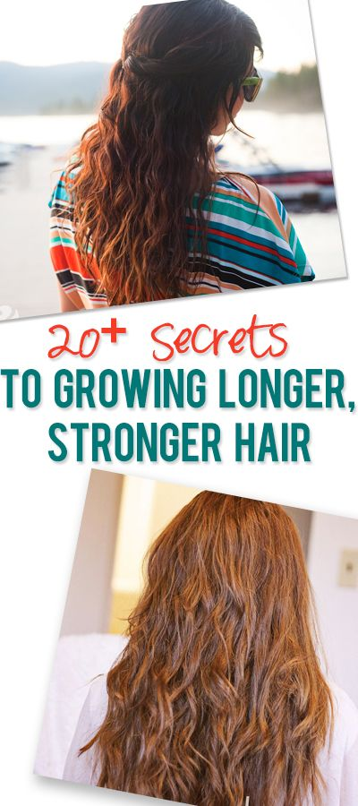 20  Pro Secrets To Growing Your Hair Longer, Stronger, Faster #howdoesshe #haircare howdoesshe.com