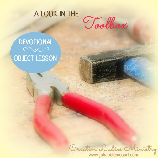 A Look in the Toolbox: Womens Devotional by Julia ...