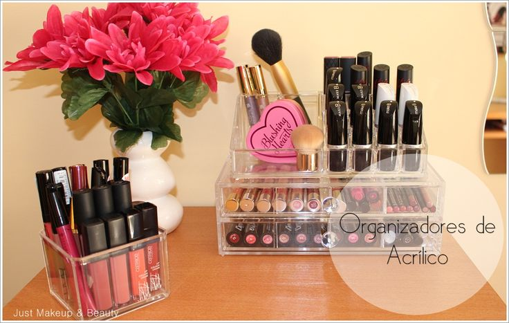 Organização Maquilhagem | Organizadores de Acrílico | Acrilic Makeup Organizers